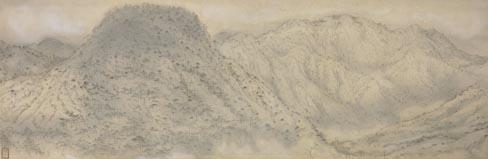 村上華岳:松山雲煙 (1925) もどる 検索メニューにもどる 独立行政法人国立美術館Indep